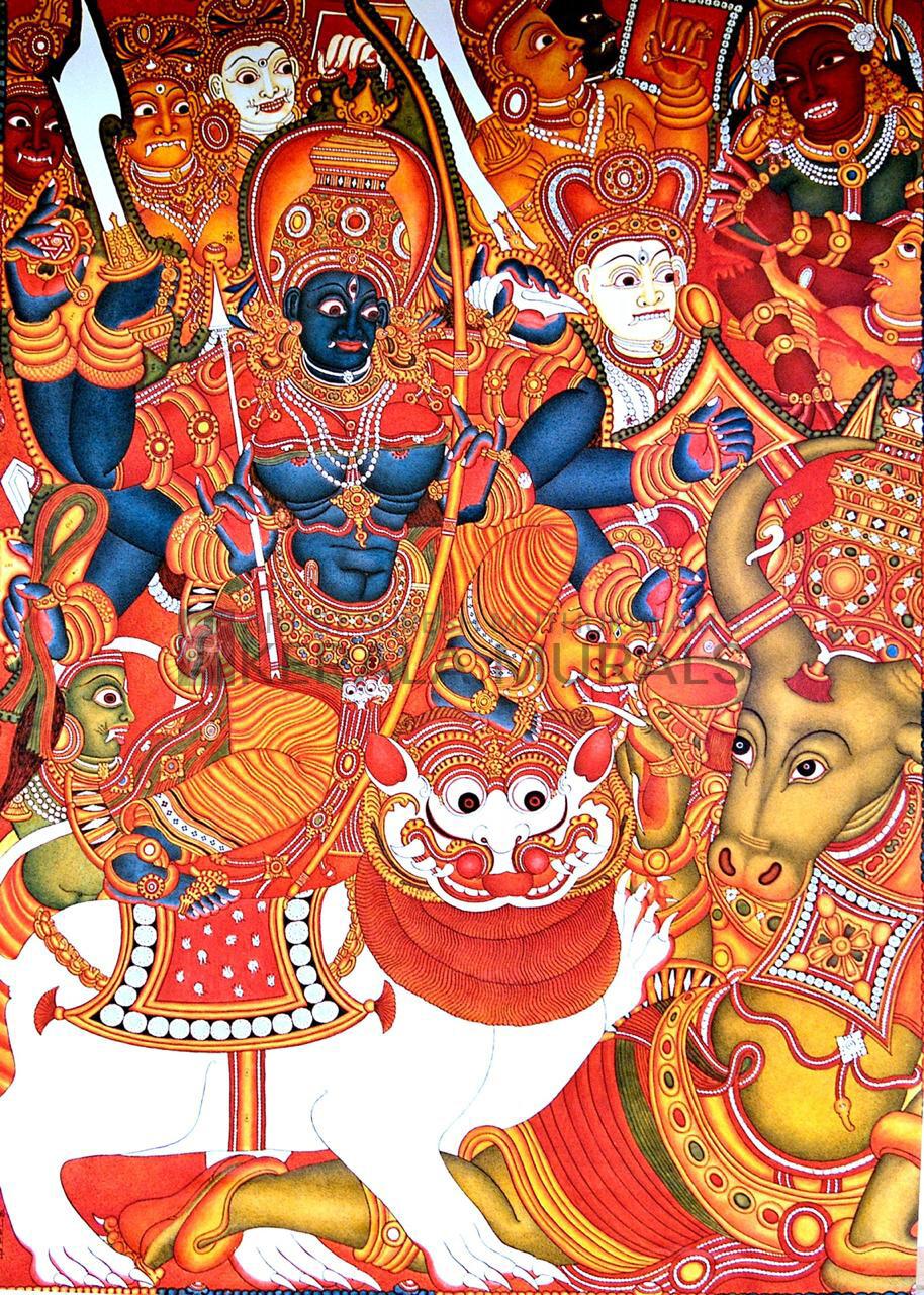 Mahishasuramarddhini