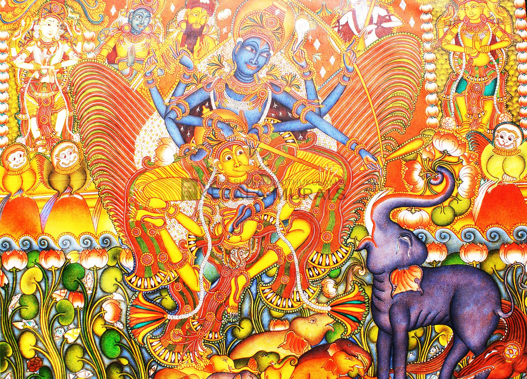 Gajendra moksham